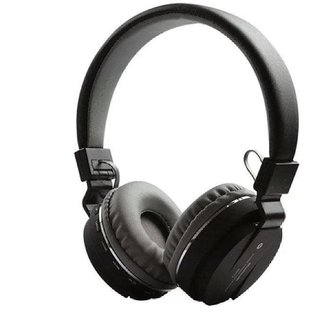 SH-12 Bluetooth Over the Ear Headphone with FM and SD Card Slot with Music and Calling Controls