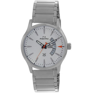 Maxima Men Analog Watch -47215CMGI