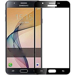 Samsung Galaxy J7 Black 5D Tempered Glass Standard Quality