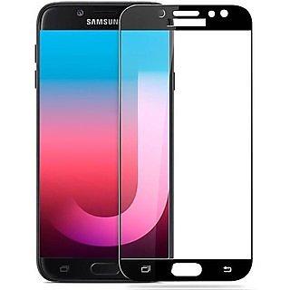 Samsung Galaxy J7 Duo (2018) 5D Black Tempered Glass Standard Quality