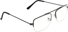 Zyaden Half Rim Rectangular Eyewear Frame 513