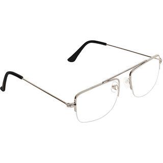 Zyaden Half Rim Rectangular Eyewear Frame 514