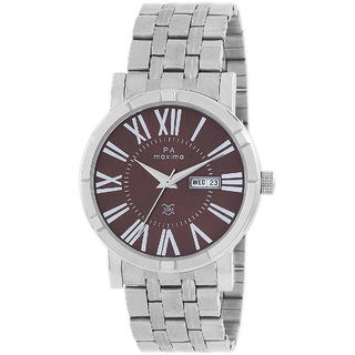 Maxima Men Analog Watch -49701CMGI