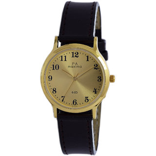 Maxima Men Analog Watch -26774LMGY