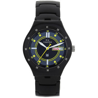 Maxima Men Analog Watch -32480CMGB