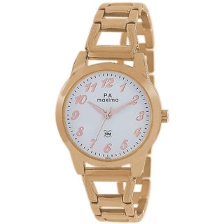 Maxima Women Analog Watch -43032BMLR