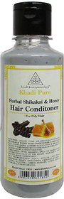 Khadi Pure Herbal Shikakai  Honey Hair Conditioner - 210ml