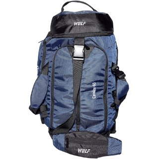 WULF Croaker Duffle Blue for Travel