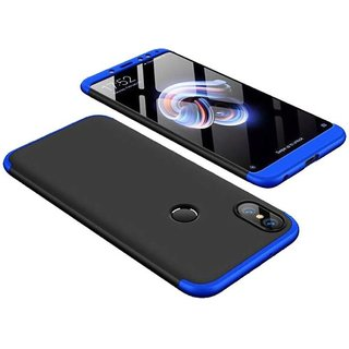 3 in 1 360 Full Body Slim Fit Protection Hybrid Hard Back Cover for Xiaomi Mi Y2 - Blue
