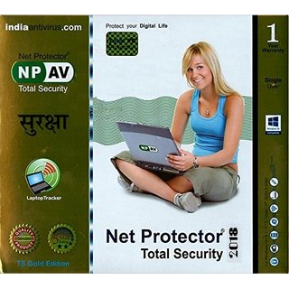 Net Protector Total Security 2018 - 1 PC 1 Year (CD)