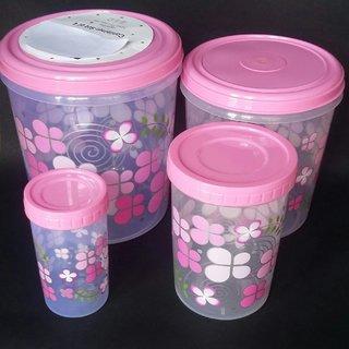 5d68946d5b6 ... Buy World Maxim Kitchen Storage Container Set Of 4 7 5 Liter 5 Liter 2  Liter ...