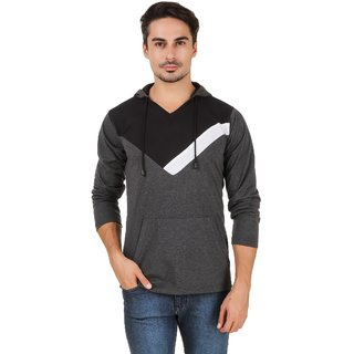 Aurelio Marco Antra Black Hooded T Shirt