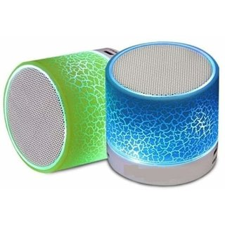 Wireless LED Bluetooth Speakers  FM Radio for All Android  iPhone Smartphones