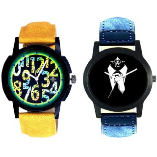 Professional Men And Awesome Exclusive Digits Men's Combo Casual Watch By Taj Avenue