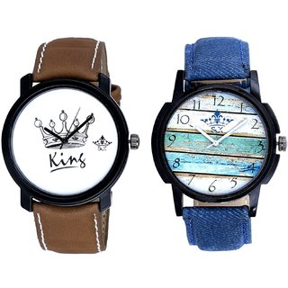 Spanish Special Colour And King Dial Men's Combo Analog Wrist Watch By Google Hub