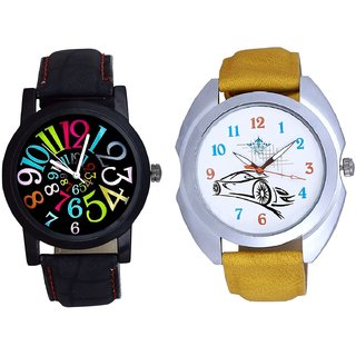 Rolls-Royce Car And Spanish Special Colour Digit SCK Men's Combo Wrist Watch