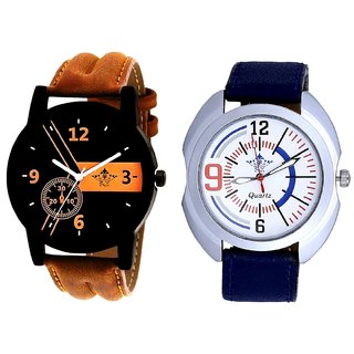 Luxury Fancy And White Dial SportSCK Combo Analogue Watch