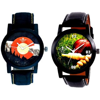 Best Cricket Design And Attractive Mount Themes SCK Combo Analogue Watch
