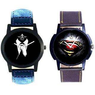 Professional Men And Super Men Stylish Men's Combo Analog Wrist Watch By Google Hub