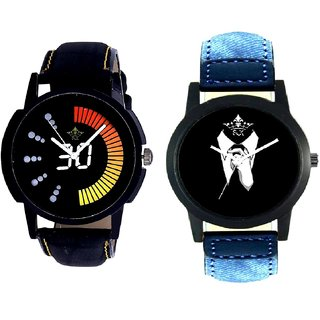 Professional Men And Attractive Race Dial Men's Combo Quartz Watch By Gujrat Hub