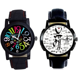 Maa All Language And Spanish Special Colour Digit Quartz Analogue Combo Watch By Google Hub