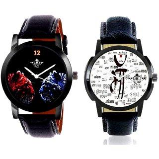 Maa All Language And 2 Jaguar Analogue Men's Combo Wrist Watch By Taj Avenue
