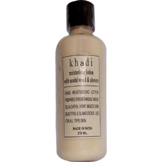 Khadi Sandal wood Moisturizer, 210 ML (Pack of 1)