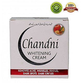 Chandni Whitening Cream + Chandni Whitening Soap