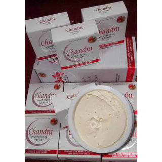 Chandni Whitening Cream Pack Of 6 Pcs (New Packing)