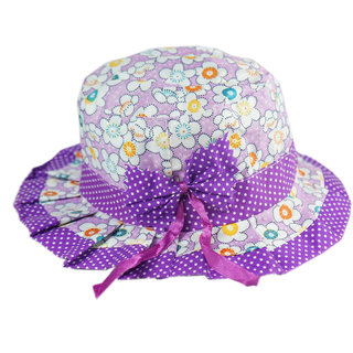 Buy kidz purple printed summer hat Online - Get 30% Off 5049b25d318c