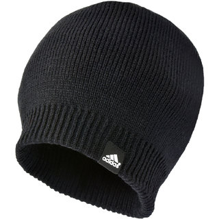 Buy Adidas Winter Black Wollen Cap for Men Online   ₹399 from ShopClues f9febe900b0