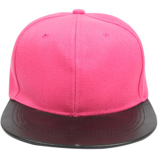 efebd5d3bc5 Buy ILU Pink Cap For Men Boys Women Girls Snapback Caps   Baseball Caps    Hip Hop Cap Online - Get 73% Off