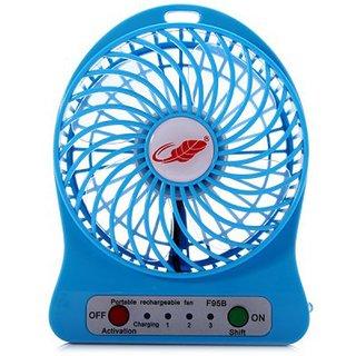 Powerful Portable Wireless Rechargeable Mini Fan
