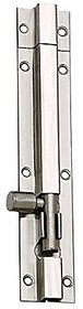 MH 12-inch Stainless Steel Plain Tower Bolt (Silver)