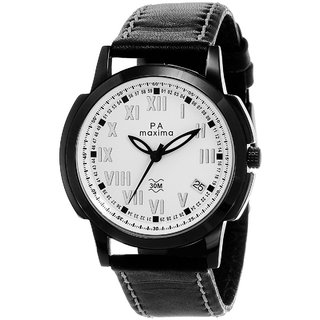 Maxima Men Analog Watch -22573LMGB