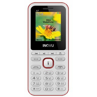 INOVU A7 (Dual Sim, 1.77 Inch Display, 1000 mAh Battery)