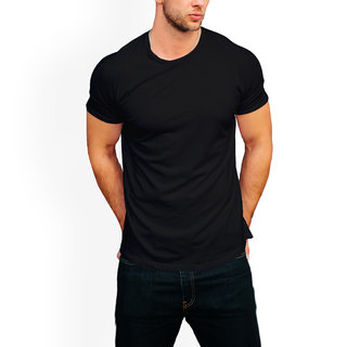 Teeforme 100 Cotton Plain round Neck T-shirt