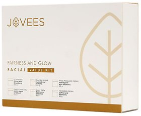 Jovees Fairness and Glow Facial Value Kit (315 G)