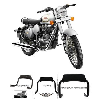 BACKREST FOR  RE CLASSIC 350 SILVER