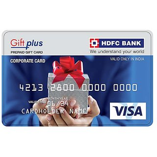 HDFC bank Gift Card