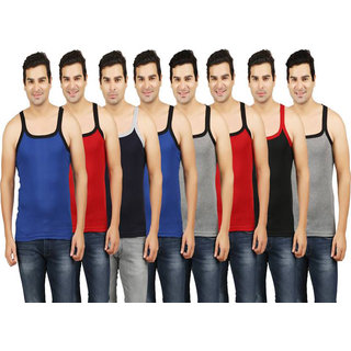 Zeeko plan multicolour men's' vest(pack-2)