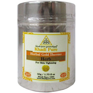 Khadi Pure Herbal Gold Thermo Herb - 50g