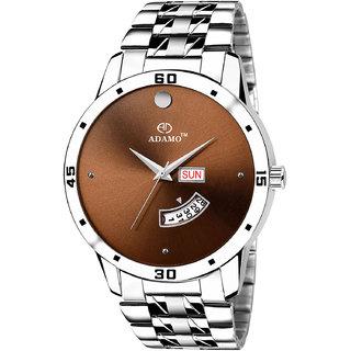 Adamo Designer Day  Date Mens Wrist Watch A824SM04