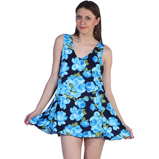 Eye Catching Floral Print Cover Up