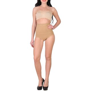 daa46b09e0 Shararat Premium Quality Womens Skin Color Tummy Tucker With Silicon Grips    Shapewear   Tummy Tight