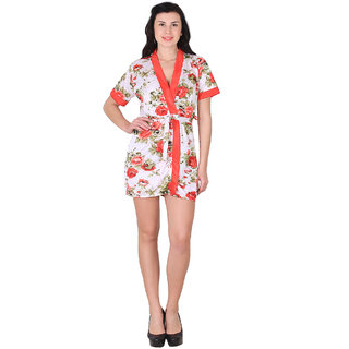 a8e86320a4 Buy Shararat Satin Nighty Night Gowns - Red Online - Get 62% Off