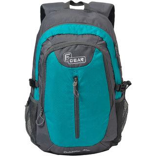 F Gear Waltz 28 Liter Backpack (Aqua Blue, Grey)