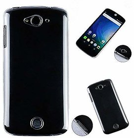 Heartly Acer Liquid Z530 Back Cover Transparent Clear Crystal Hot Thin Hard Case - Crystal View