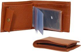 xy decor Tan Leather Wallet For Men
