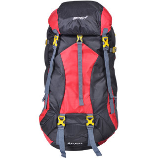 Justcraft Force Red 65 LTR Rucksack